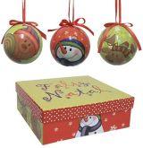 Bolas de Natal Decoupage III