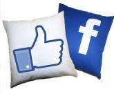Almofada Kit Facebook Curtir
