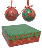 Bolas de Natal Decoupage II